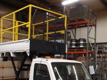 Scissor Lift for Mini Truck